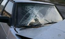 «Во всем виноват ребенок»: в Днепре автомобиль врезался в столб