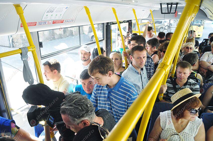 «Я не поднимусь на гору»: пассажирам троллейбуса пришлось идти пешком. Новости Днепра