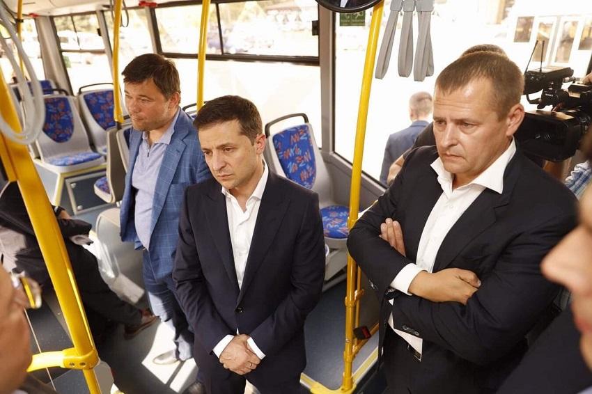 В Днепре запущен новый троллейбус. Новости Днепра