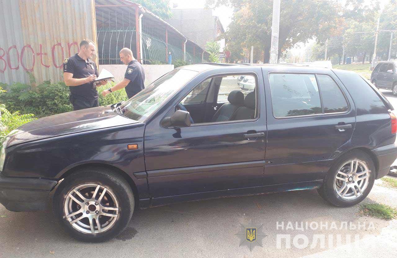 Не смог завести: в Днепре наглый вор попросту отбуксировал чужой автомобиль. Новости Днепра