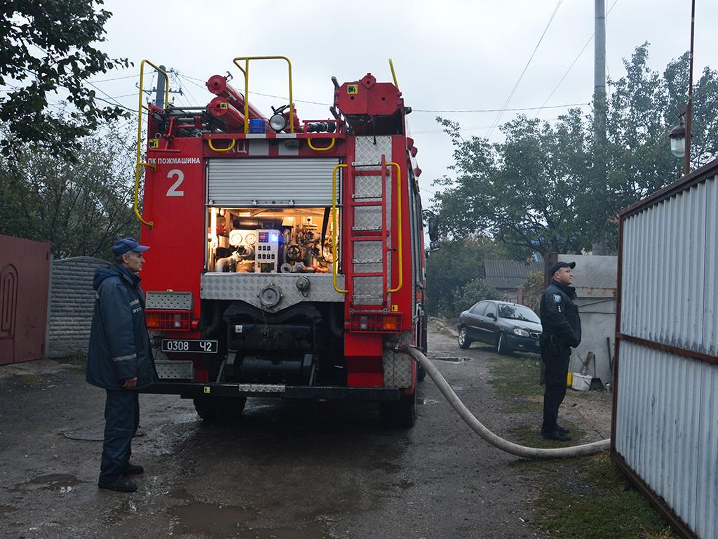 15 спасателей тушили пожар. Новости Днепра