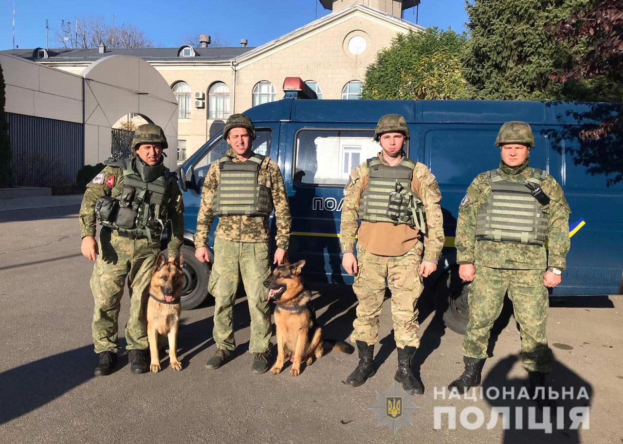В аэропорту Днепра проходят учения полиции и СБУ. Новости Днепра