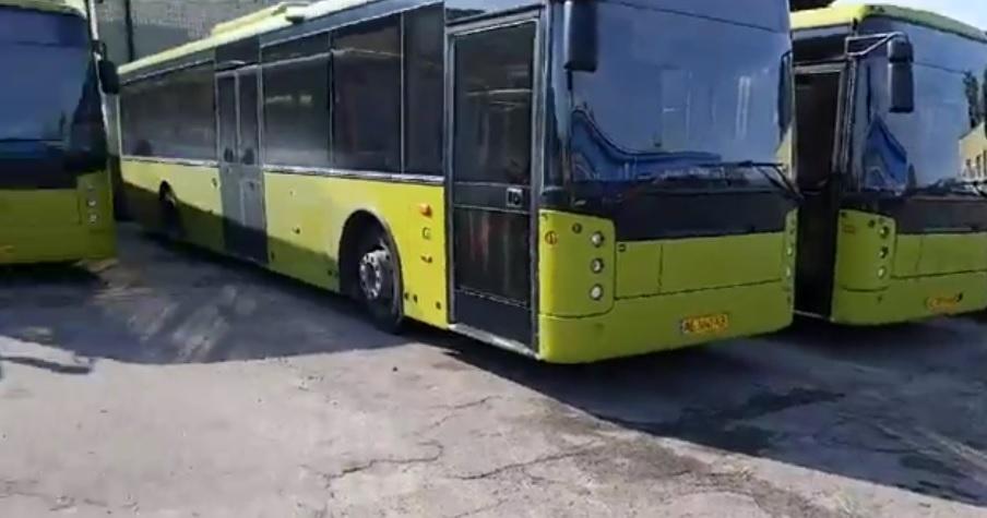 В Днепре на маршруты запустят большие автобусы. Новости Днепра