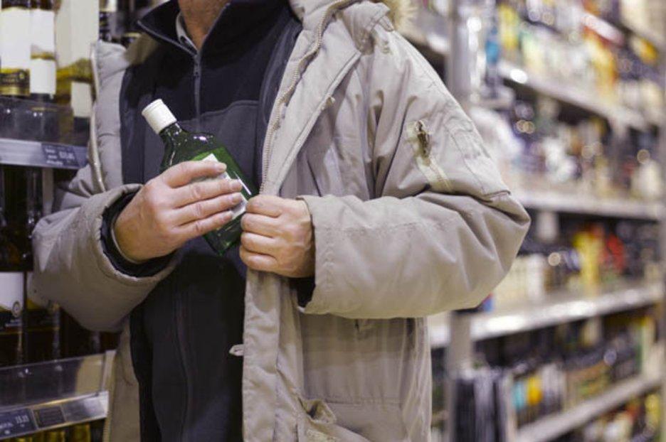 «Отдых по-крупному»: мужчина украл из магазина алкоголь на 4 тысячи гривен. Новости Днепра