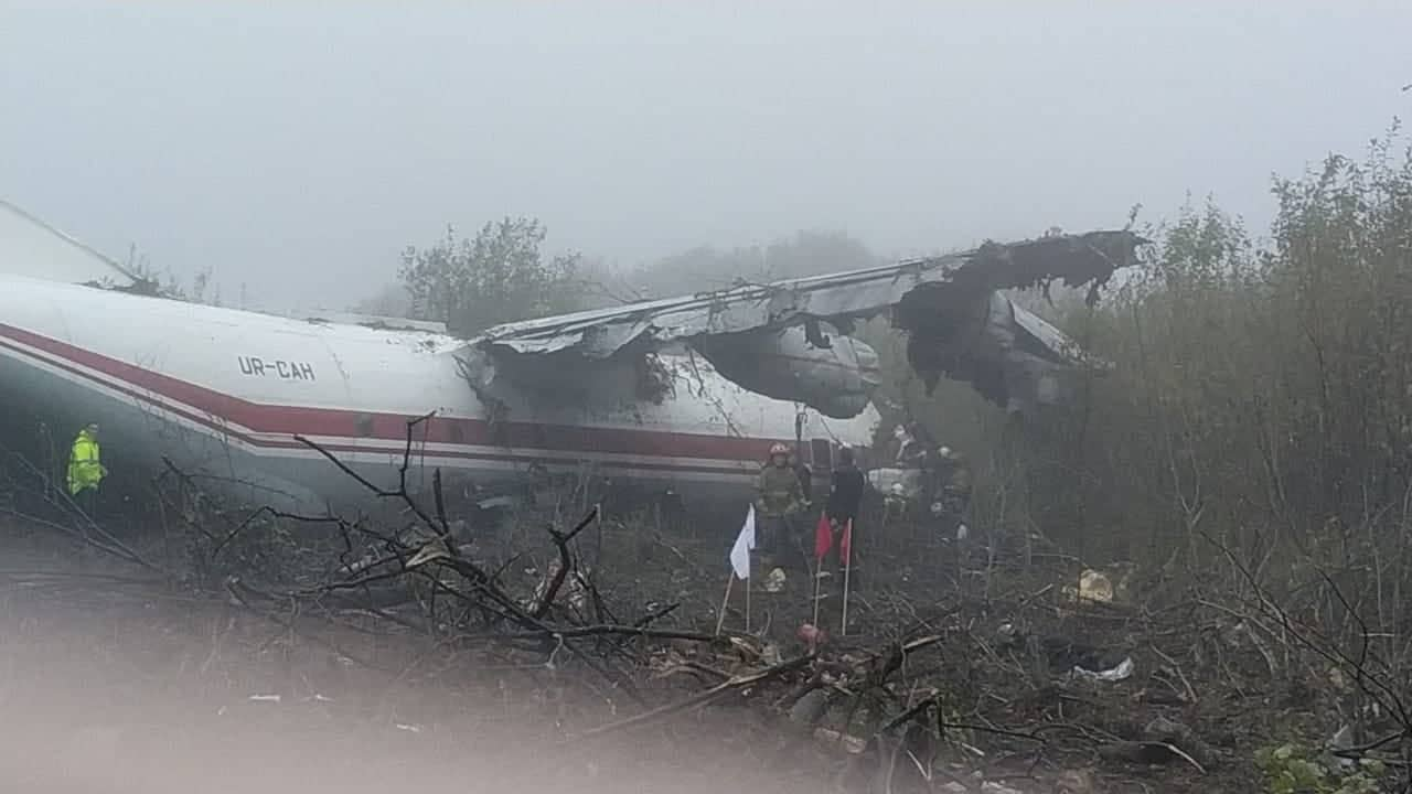 Возле Львова упал самолет: погибли люди. Новости Украины