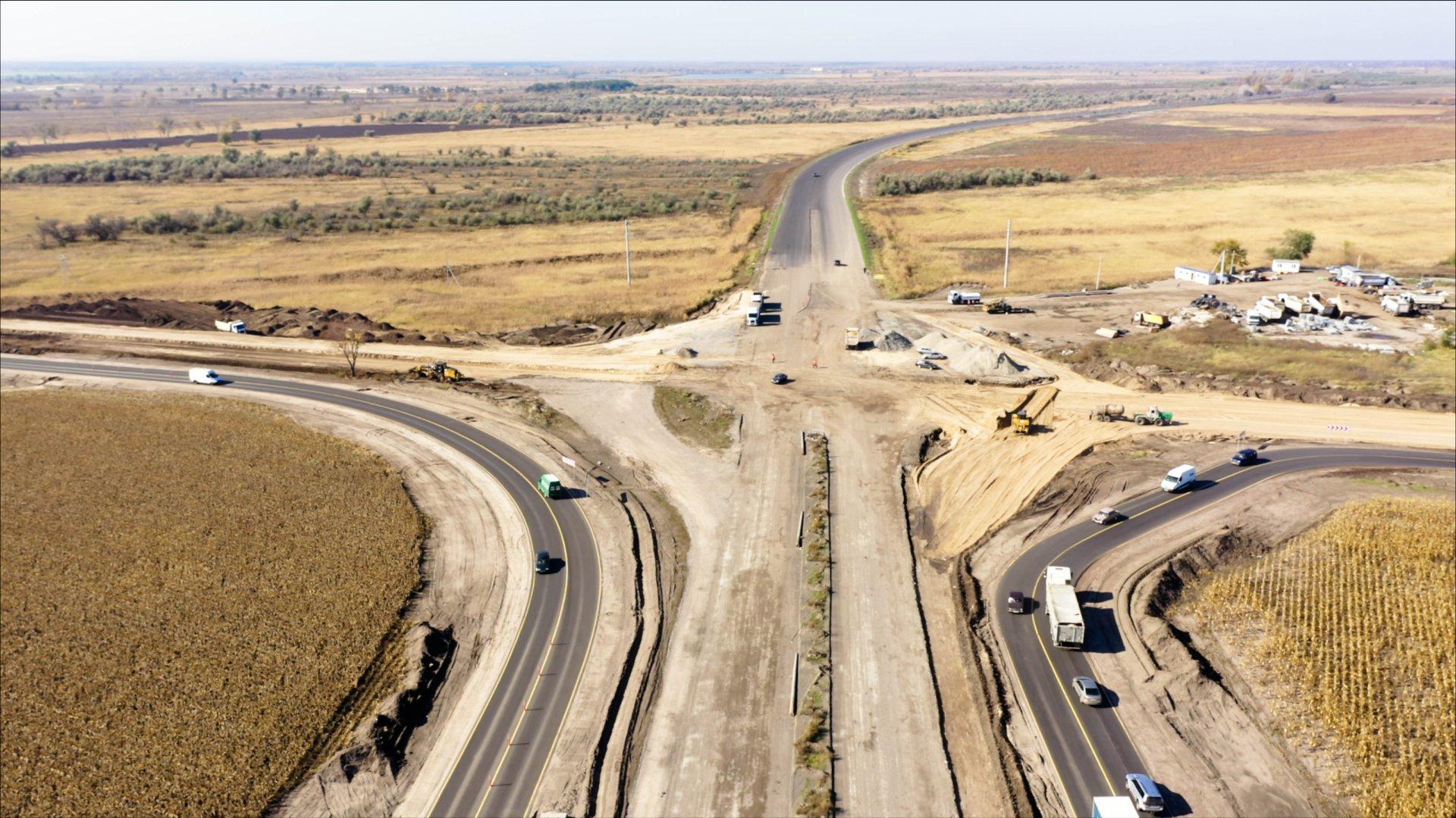 «В чистом поле»: из Днепра строят новую трассу. Новости Днепра