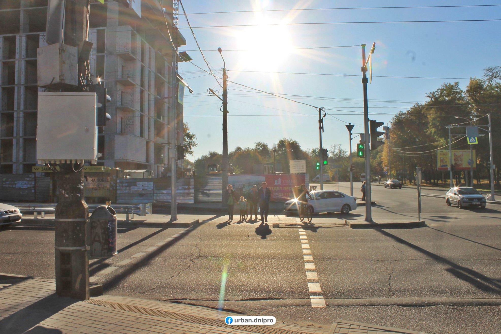В Днепре предприняли меры для безопасности граждан на дороге. Новости Днепра