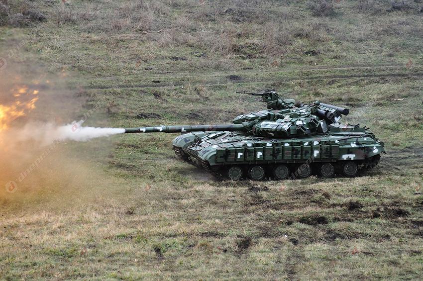 В Днепре стреляли танки и зенитки. Новости Днепра