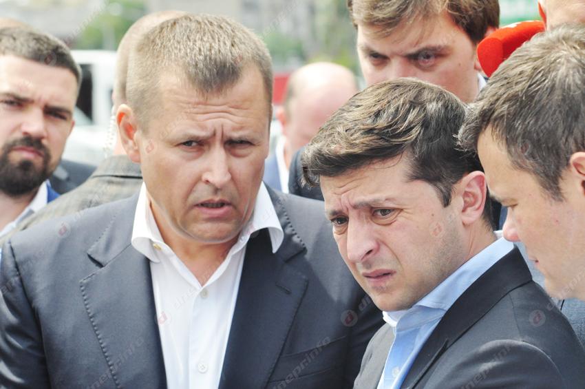 Зеленский рассказал, какая судьба пари с Филатовым. Новости Днепра