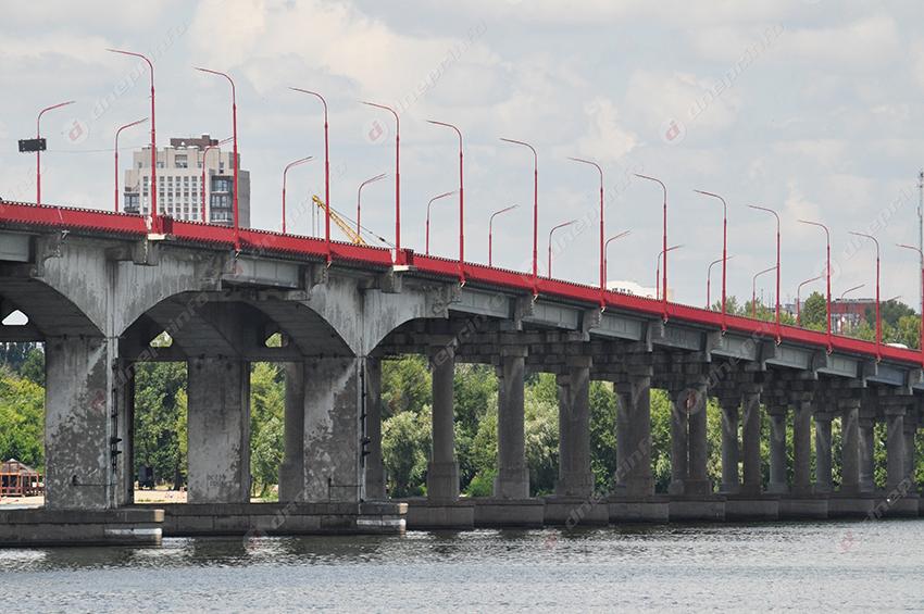 В Днепре снова перекроют Новый мост. Новости Днепра