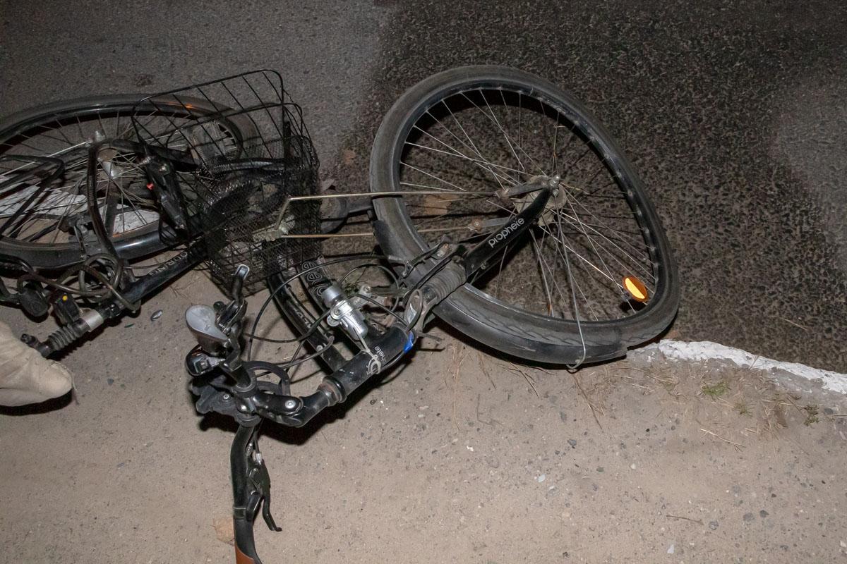 «Не заметил»: в Днепре сбили велосипедиста. Новости Днепра