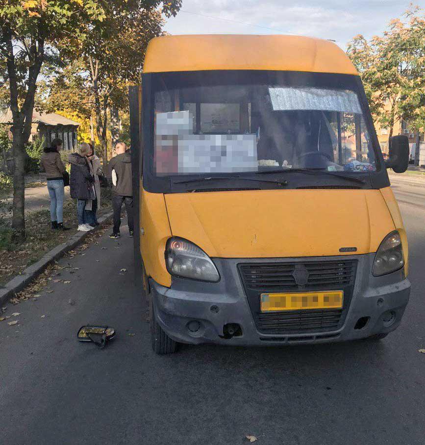 В Днепре агрессивный мужчина напал на маршрутку. Новости Днепра