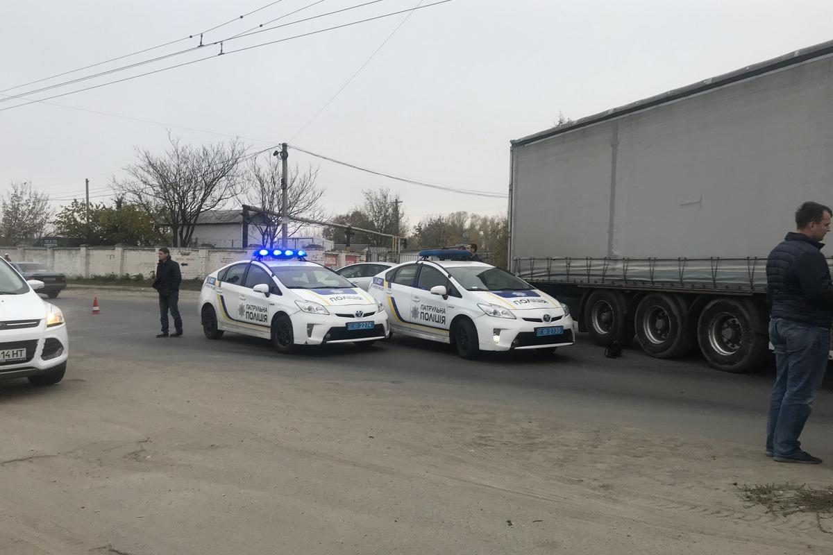 В Днепре грузовик переехал женщину. Новости Днепра