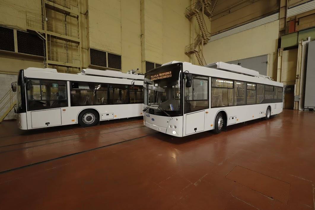 В Днепре появятся новые троллейбусы. Новости Днепра