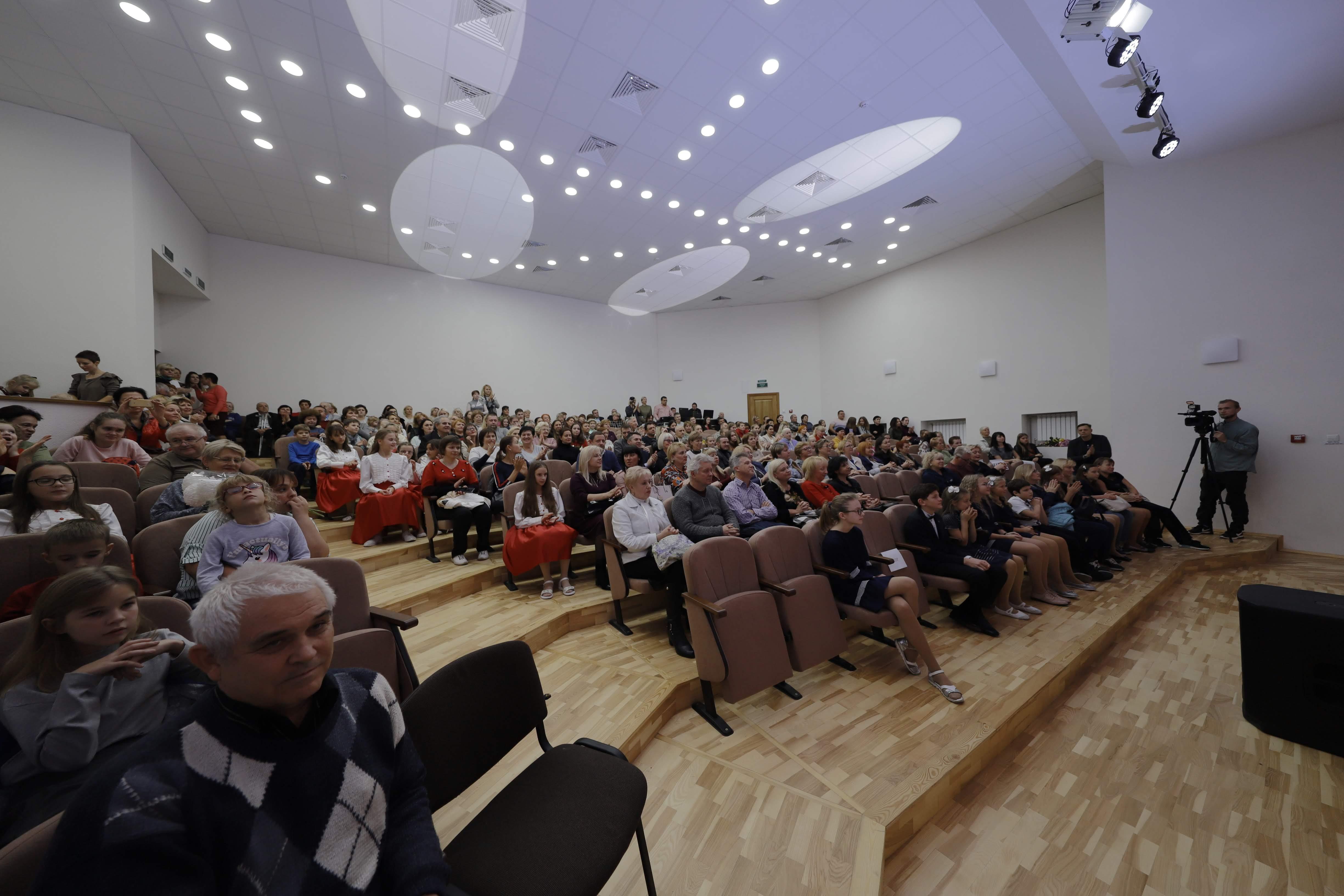 В Днепре открыли новый концертный зал. Новости Днепра