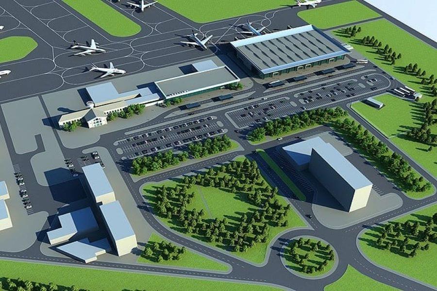 Филатов опубликовал фото проекта реконструкции аэропорта в Днепре. Новости Днепра