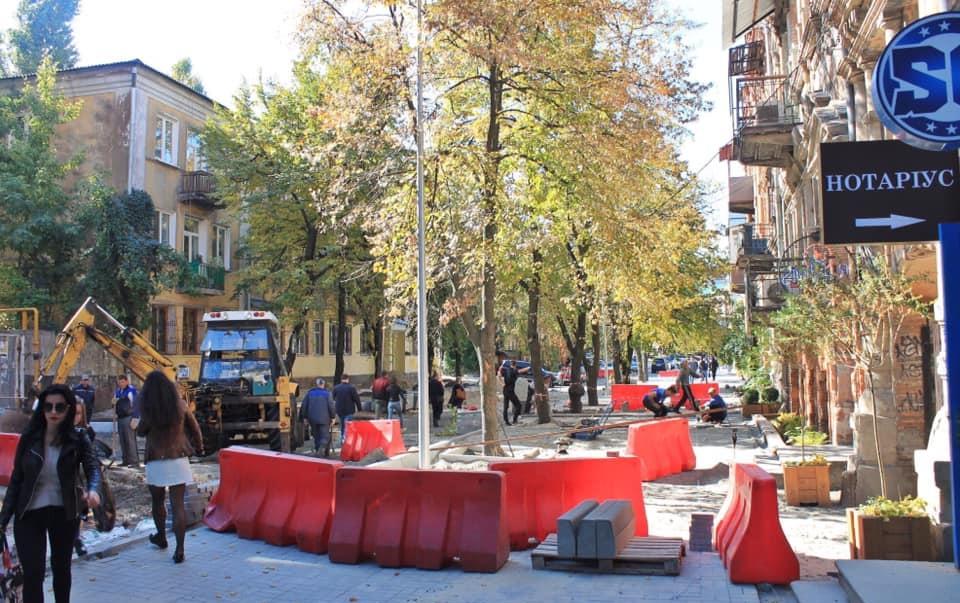 «Первый блин комом»: в Днепре продолжают реконструировать улицы. Новости Днепра