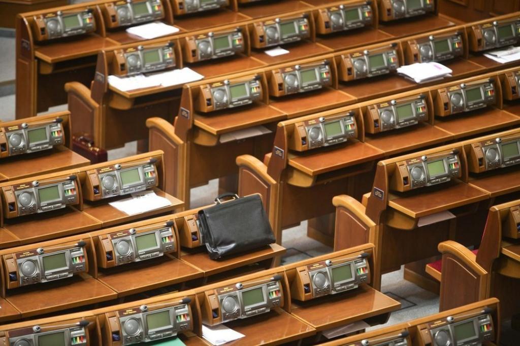 Украинских депутатов накажут за прогулы: подробности. Новости Украины