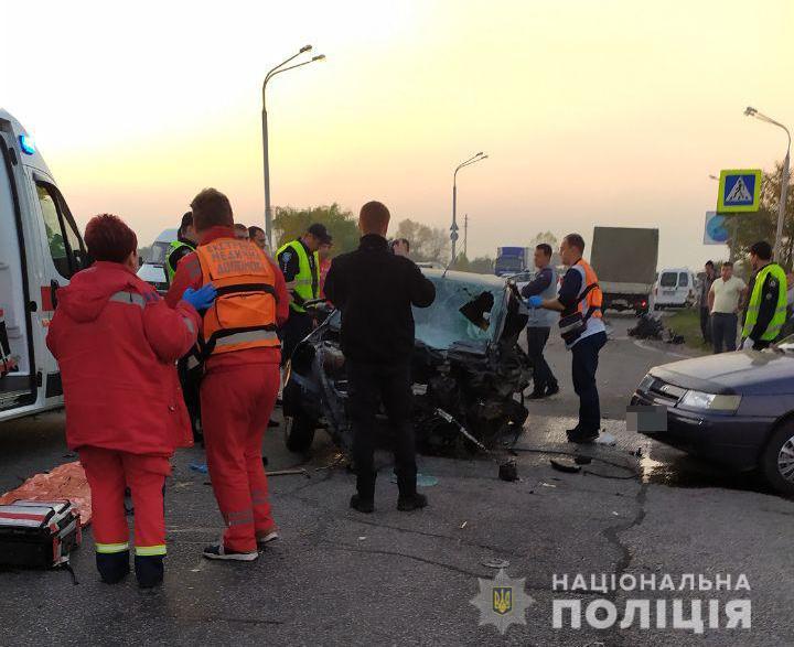 В ДТП погиб полицейский. Новости Днепра