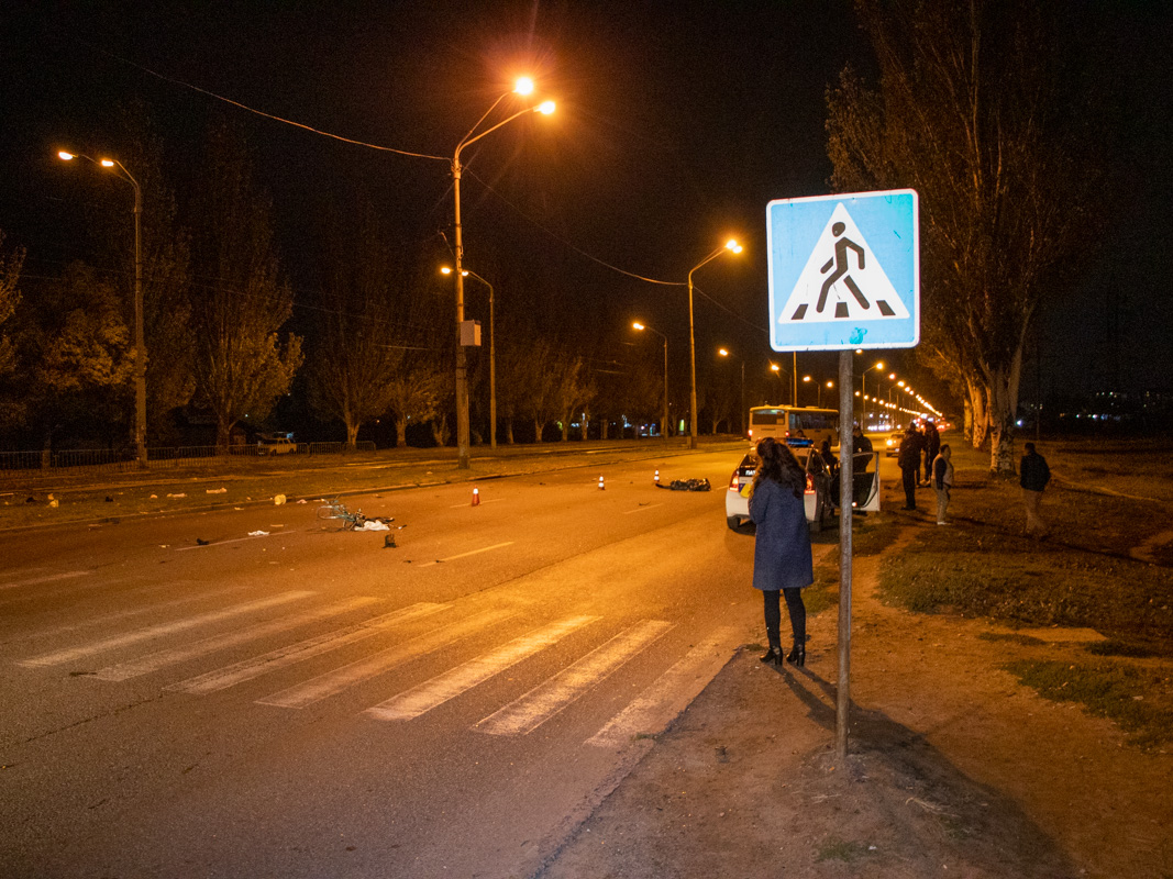 В Днепре произошло жуткое ДТП – погиб мужчина. Новости Днепра