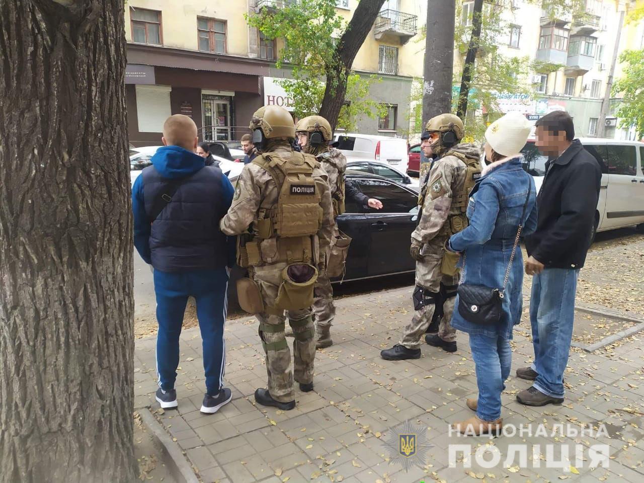 «КОРД» в Каменском арестовал членов преступной группировки. Новости Днепра