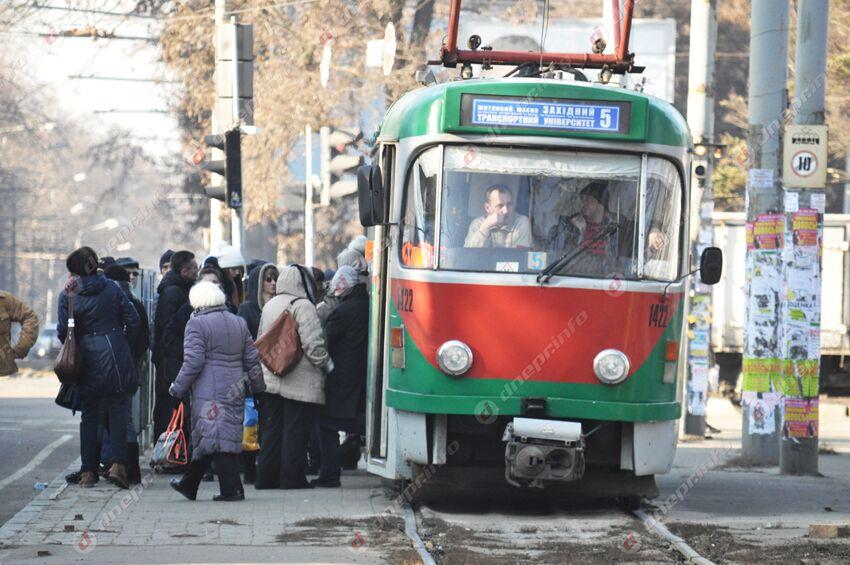 Завтра в Днепре трамваи изменят свой маршрут. Новости Днепра
