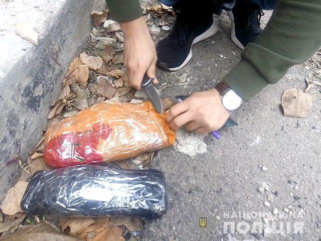 «Носил с собой»: у мужчины изъяли около килограмма наркотиков. Новости Днепра