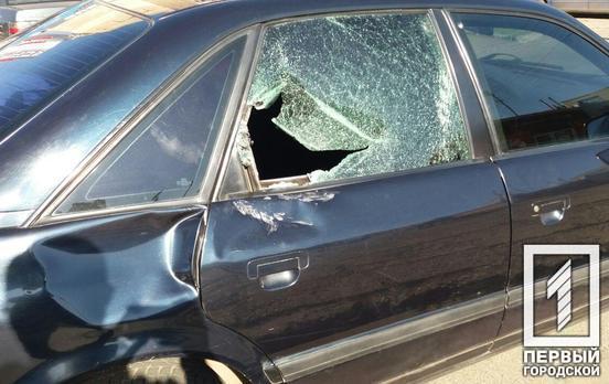 «Пробил стекло головой»: мужчина пострадал в ДТП. Новости Днепра