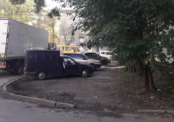 Парковка не по правилам. Новости Днепра