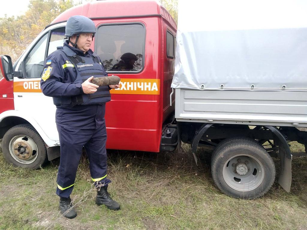 «Угроза рядом»: жители области находят взрывоопасные предметы. Новости Днепра