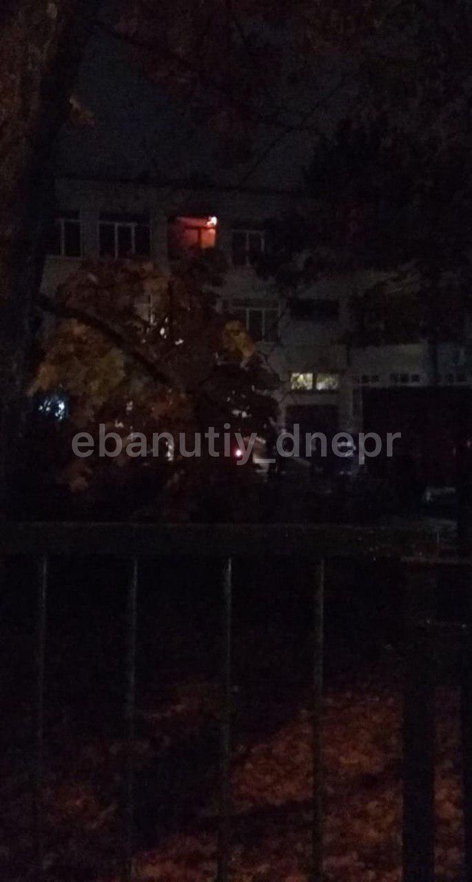 Масштабный пожар: загорелась одна из днепровских школ. Новости Днепра