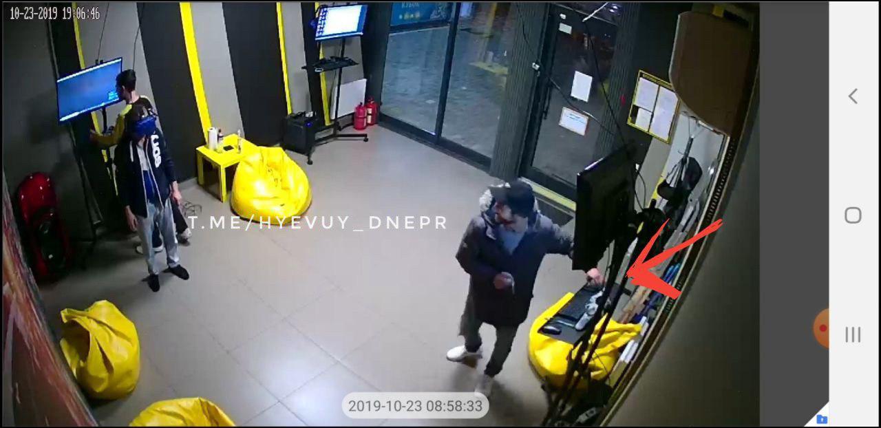«Работают в паре»: наглое ограбление в Днепре. Новости Днепра