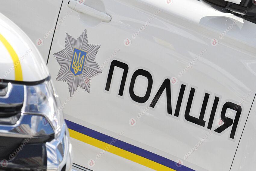 Погоня: в Днепре «гонщик» въехал в машину полиции. Новости Днепра