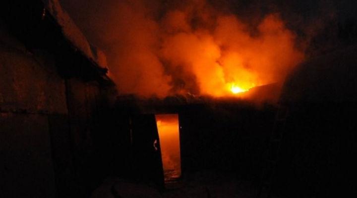 Во время пожара пострадал мужчина. новости Днепра