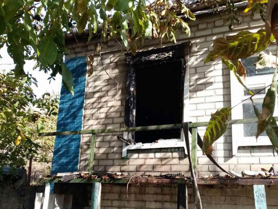 Женщина погибла при пожаре. Новости Днепра
