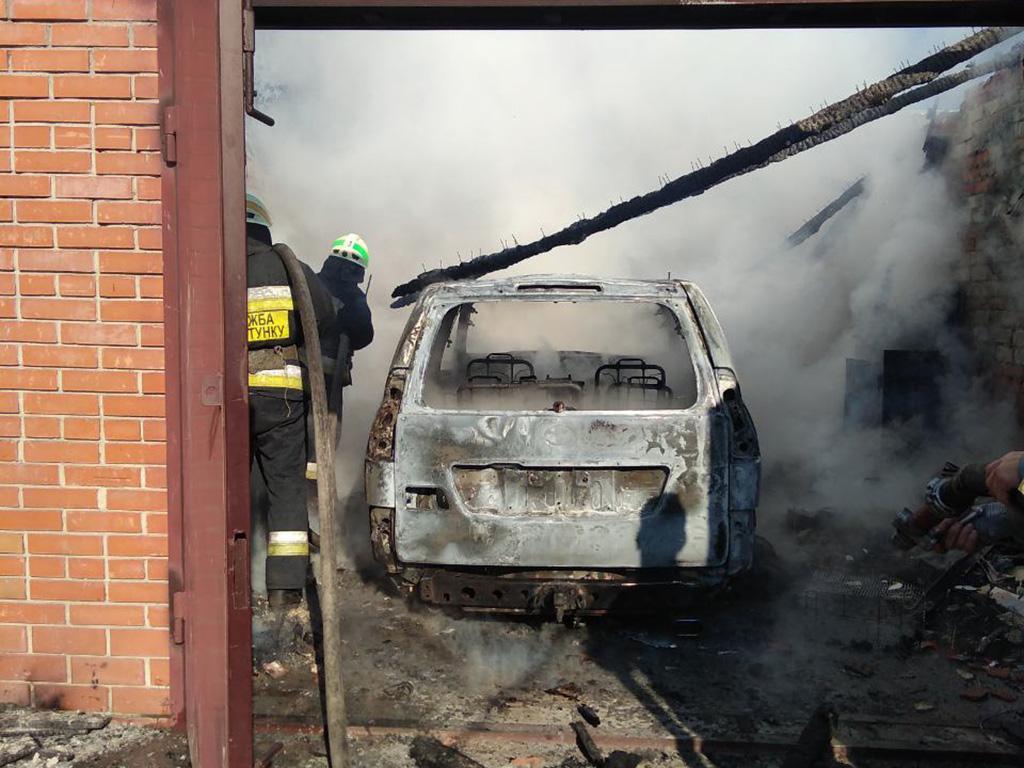 Сгорела машина. Новости Днепра