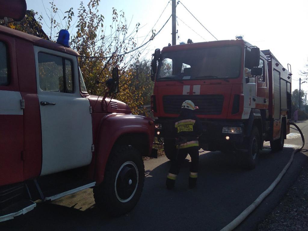 Сгорел автомобиль. Новости Днепра