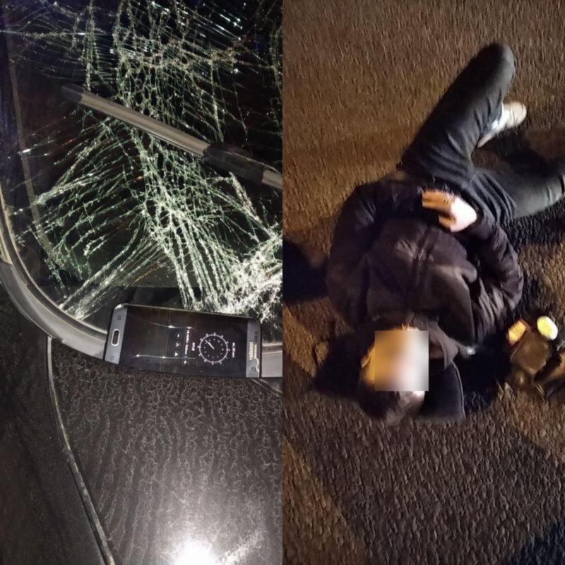 Перебегал дорогу: в Днепре автомобиль сбил парня. Новости Днепра