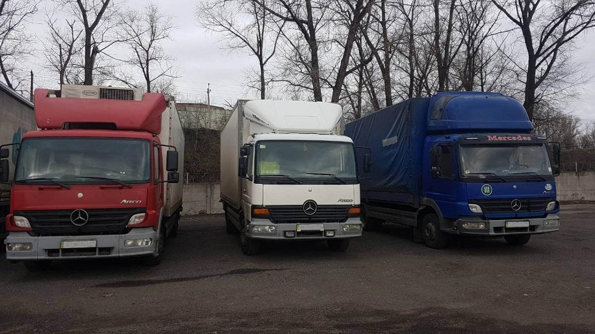 На парковке грузовиков умер мужчина. Новости Днепра