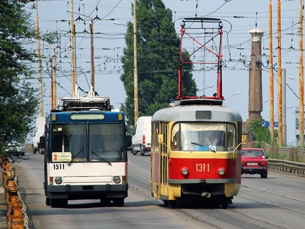 Трамваи изменят маршрут. Новости Днепра