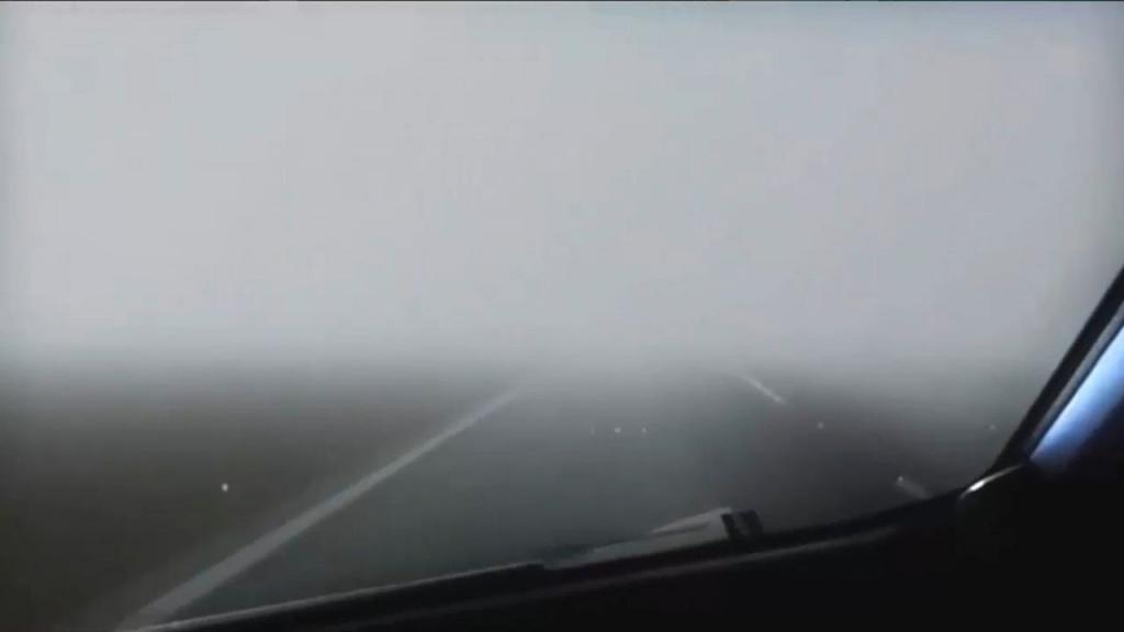В Днепре и области - густой туман. Новости Днепра