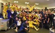 Историческая победа: сборная Украины обыграла Португалию и вышла на Евро