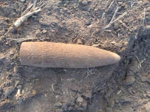 Мужчина нашел боеприпасы на своем огороде. Новости Днепра
