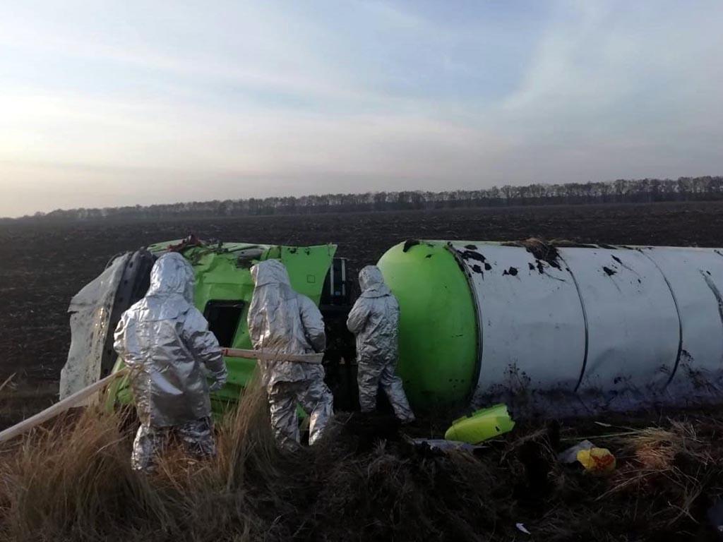 «На грани трагедии»: под Днепром перевернулась фура с газом. Новости Днепра