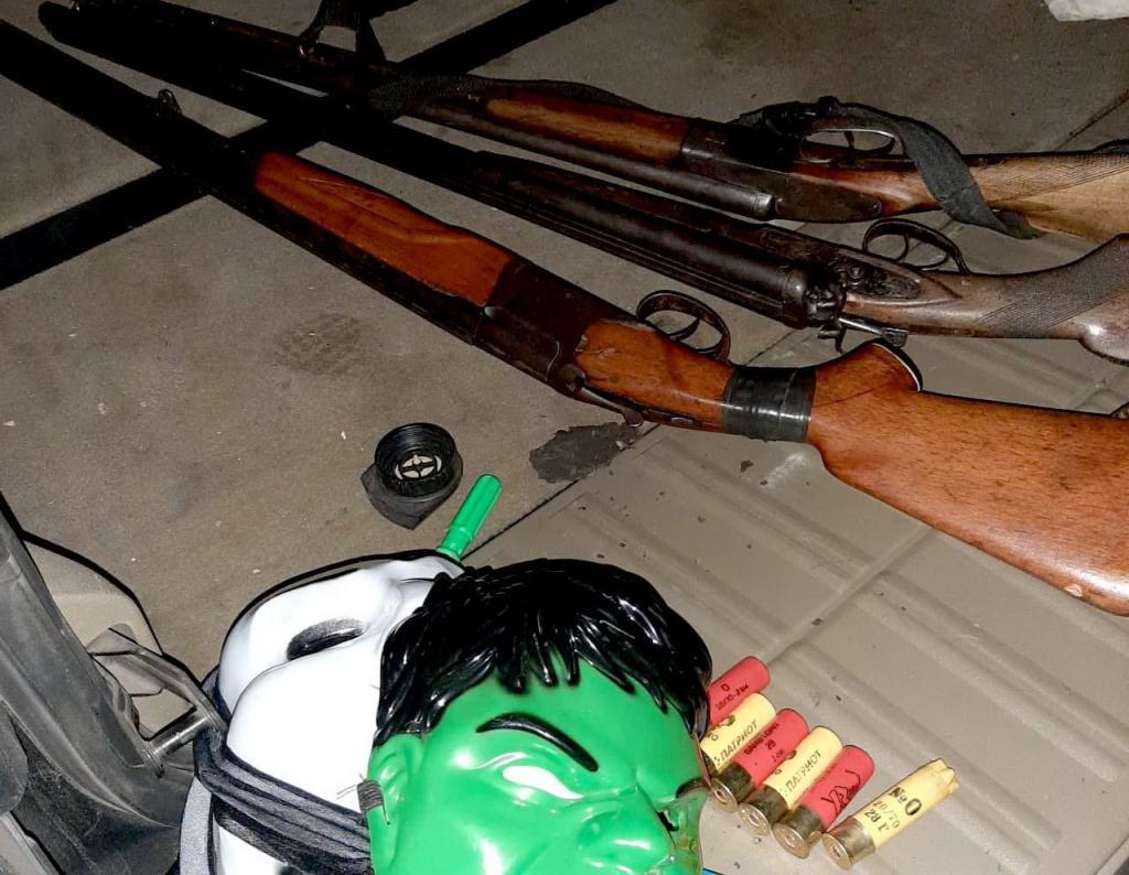 В автомобиле ранее судимого мужчины нашли оружие и боеприпасы. Новости Днепра
