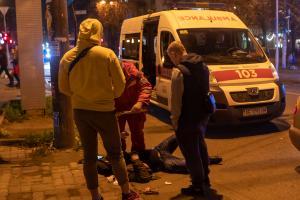 мужчину сбила машина. новости Днепра