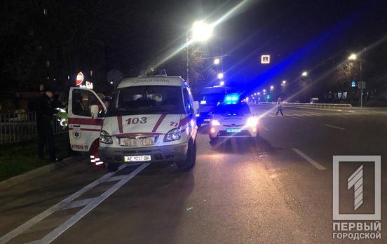 Маршрутка сбила пешехода. Новости Днепра