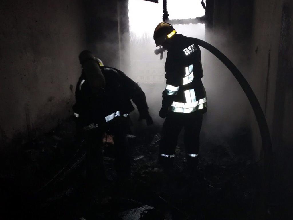 Пожар в многоэтажном доме: есть пострадавший. Новости Днепра