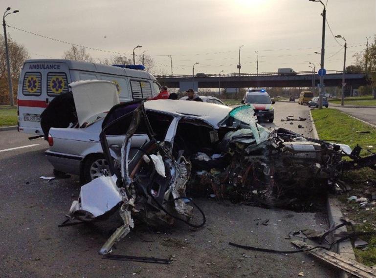Появилось видео масштабной аварии в Днепре. Новости Днепра