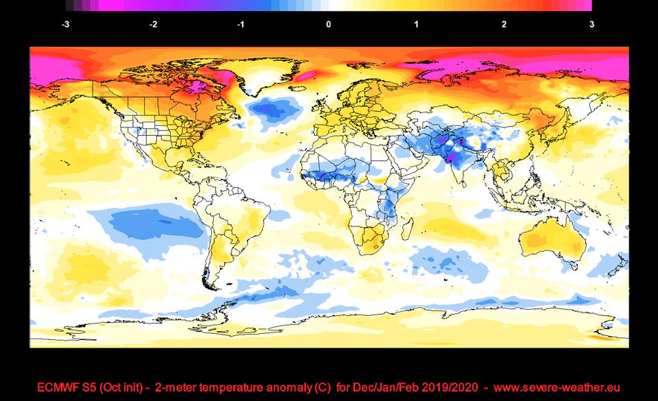 Какая зима «ждет» украинцев: официальный прогноз гидрометцентра. Новости Украины
